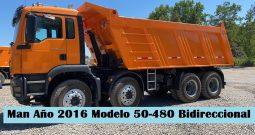 Man Año 2016 Modelo 50480 Tolva Bidireccional